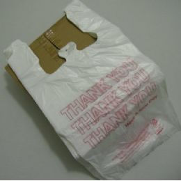 """5 Units of """"thank You"""" BagS-500ct [white] - Bags Of All Types"""