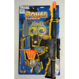 48 Units of 12pc Police Force Set - Toy Sets