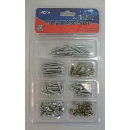36 Units of Hardware Assortment [Small Nuts/Bolts/Washers] - Drills and Bits