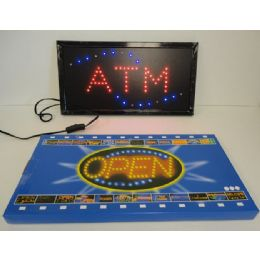 3 Units of Light Up SigN-Atm - Displays & Fixtures