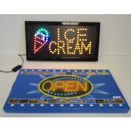 6 Units of Light Up SigN-Ice Cream - Displays & Fixtures