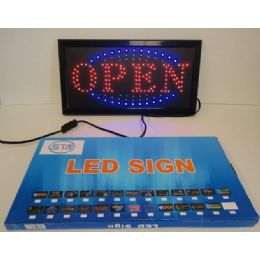 6 Units of Light Up SigN-Open [horizontal] - Displays & Fixtures