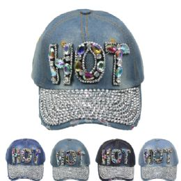 "24 Units of "" Hot"" Cap - Hats With Sayings"