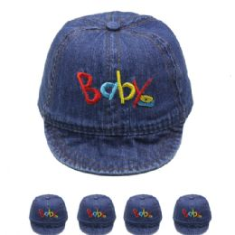 "72 Units of Kids ""baby"" Summer Hat - Hats With Sayings"