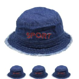 "72 Units of Kids ""sport"" Summer Hat - Hats With Sayings"