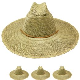 24 Units of ADULTS SUMMER STRAW HAT - Sun Hats