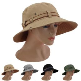 24 Units of ASSORTED COLOR MENS BUCKET HAT - Bucket Hats