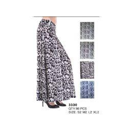 96 Units of Animal Print Maxi Skirt - Womens Skirts