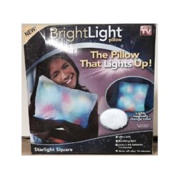 12 Units of Bright Light Pillow (As Seen On TV) - Pillow Cases
