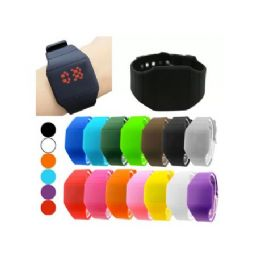 48 Units of Digital Watches in Square or Round Shape (Assorted colors) - Women's Watches