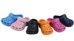 60 Units of Garden Shoes for Kids (Assorted colors and sizes) - Girls Flip Flops