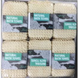 48 Units of Natural Waffle Style Louganis Sponge - Bath And Body