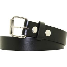 36 Units of Kids Belt In Black - Kid Belts