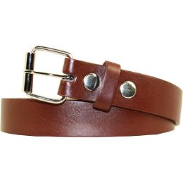 36 Units of Kids Belt In Brown - Unisex Fashion Belts