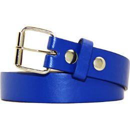 36 Units of Kids Belt In Blue - Unisex Fashion Belts