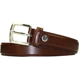 36 Units of Kids Belt Small Size Only In Brown - Unisex Fashion Belts