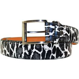 36 Units of Men's Animal Pattern Belt - Mens Belts
