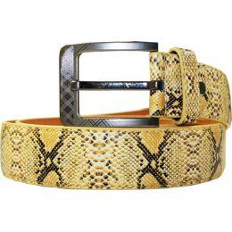 36 Units of Men Belt Animal Pattern 106 - Mens Belts