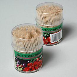 72 Units of 500ct Wood Toothpicks - Toothpicks