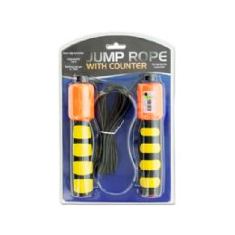 15 Units of Jump Rope With Counter & NoN-Slip Handles - Jump Ropes