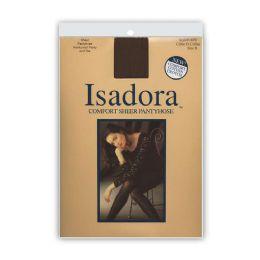 72 Units of Isadora Comfort Sheer Pantyhose - Womens Pantyhose
