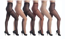 72 Units of Isadora Comfort Sheer Pantyhose( Beige Color Only) - Womens Pantyhose