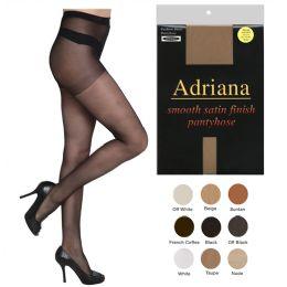 60 Units of Adriana Fashion Sheer Pantyhose - Womens Pantyhose