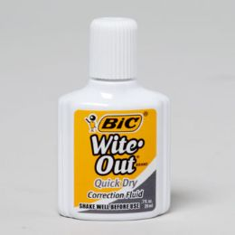 240 Units of .7 Fl Oz Bic Wite Out - Correction Items