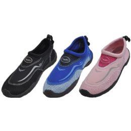 30 Units of Woman's Aqua Shoes Assorted Colors - Women's Aqua Socks