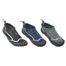 30 Units of Mens Summer Aqua Shoes Asserted Colors - Men's Aqua Socks