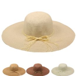 24 Units of Womans Quality Large Brim Sun Hat - Sun Hats