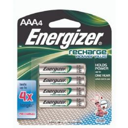 6 Units of Energizer Recharge AaA-4 - Batteries