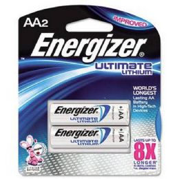 18 Units of Energizer Lithium AA-2 - Batteries