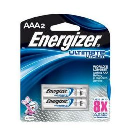 18 Units of Energizer Lithium AaA-2 - Batteries