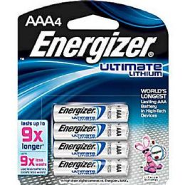 12 Units of Energizer Lithium AaA-4 - Batteries
