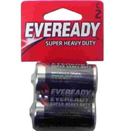 36 Units of Hv Duty C-2pk Carbon Zinc Eveready - Batteries