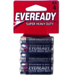 36 Units of Hv Duty AA-4p Carbon Zinc Eveready - Batteries