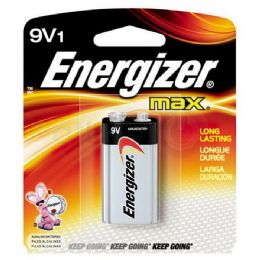 24 Units of ENERGIZER 9V-1 522B Alkaline card of 1 - Batteries