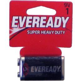 36 Units of EVEREADY Heavy Duty 9v-1pk batteries - Batteries