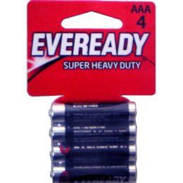 24 Units of EVEREADY Heavy Duty AAA-4pk batteries - Batteries