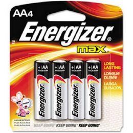 24 Units of ENERGIZR AA-4 E91B4 Alkaline card of 4 - Batteries