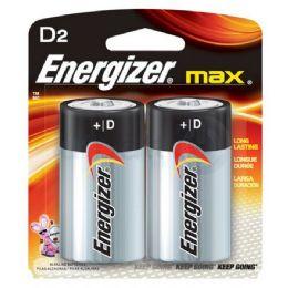 24 Units of ENERGIZER D-2 E95B2 Alkaline card of 2 - Batteries