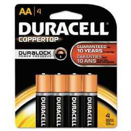 28 Units of DURALOCK AA-4 MN1500B4 carded - Batteries