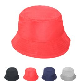 24 Units of Women's Assorted Solid Color Sun Hat - Sun Hats