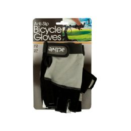 12 Units of Anti-Slip Bicycle Gloves with Breathable Top Layer - Gardening Gloves