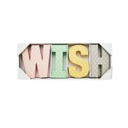 24 Units of Wish Letters Wall Decor - Wall Decor