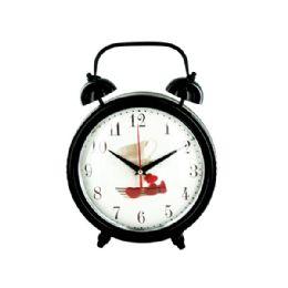 6 Units of Decorative Metal Desk Clock - Wall Decor