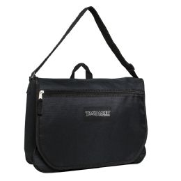 24 Units of Trailmaker Messenger Bag - Black Only - Shoulder Bags & Messenger Bags
