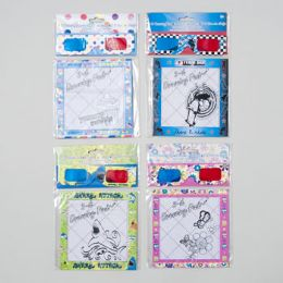 144 Units of 3-D Glasses With Drawing Pad 20 Sheets -6 Assorted - Sketch, Tracing, Drawing & Doodle Pads
