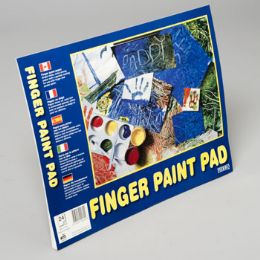 96 Units of Finger Paint Pad 14x11 Inch 24ct - Sketch, Tracing, Drawing & Doodle Pads